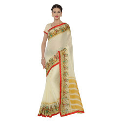Stylish Chiffon Printed Saree