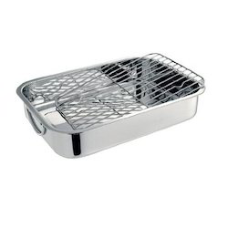 Stainless Steel Lasagna Tray, for Hotel/Restaurant