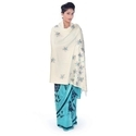 Floral Kashmiri Wool Shawl 163