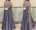 Mirror Work Designer Party Wear Gown