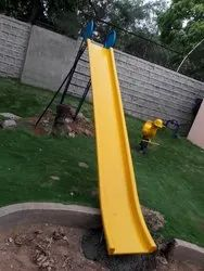 Outdoor Ladder Fiber Slide