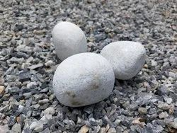 White Natural Stone Pebbles, For Landscaping