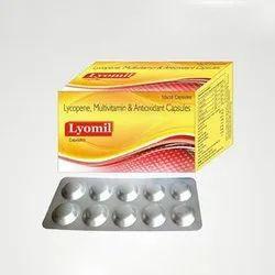 Lycopene Multivitamin And Antioxidant Capsules