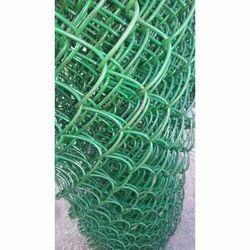 Green Chain Link Mesh