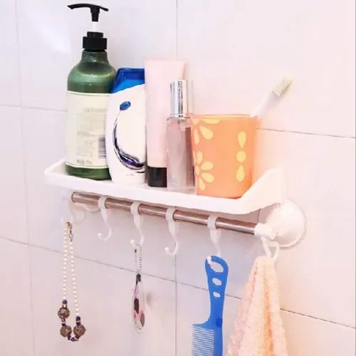Om Anvay Bathroom Shelf Wall Mounted