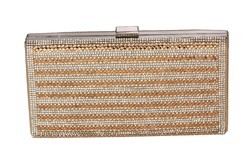 Gold Tyllo Bridal Party Gold Clutch