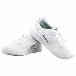 Mens Gold Star White Marathon Shoes, Size: 6-10