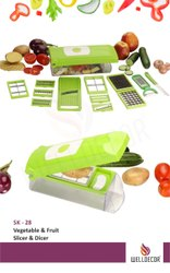 Welldecor Multipurpose Vegetable Chopper
