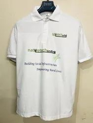 Printed Cotton T Shirt Printing Services