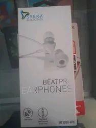 HE1000 WH Beatpro Earphone
