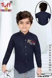 Cotton Party Wear Kids Shirts