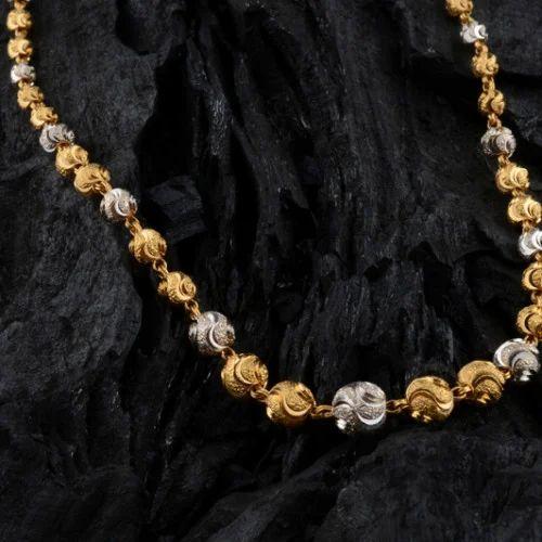 Gold Chain supplier - Beads Kanthi Gold Chain Manufacturer