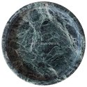 Home Decorative Green Round 5.75 Marble Tray