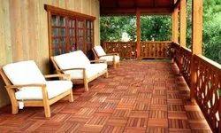 Designer Wooden Deck Flooring, Size/Dimension: 26x50 feet