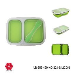 Silicone Lunch Box Foldable-LB-353