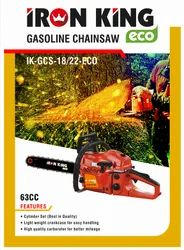 Iron King Petrol Chainsaw 63cc
