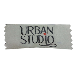 Quality White Woven Printed Label