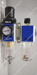 Schrader Duncan Pneumatic Filter Regulator Lubricator (FRL)