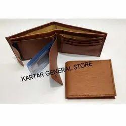 Brown Mens Wallet, Packaging Type: Box