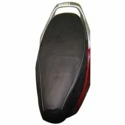 Black Rexine Scooty Seat Cover