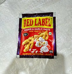 Dabur Homemade Red Label Ginger Garlic Paste 5rs, Packaging Size: 200 G, Packaging Type: Packets