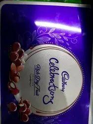 Blue Rectangular 177g Cadbury Celebration Chocolate, Packaging Type: Tin Pack, 177gm