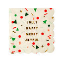 White , Yellow Embossed Party Paper Napkin
