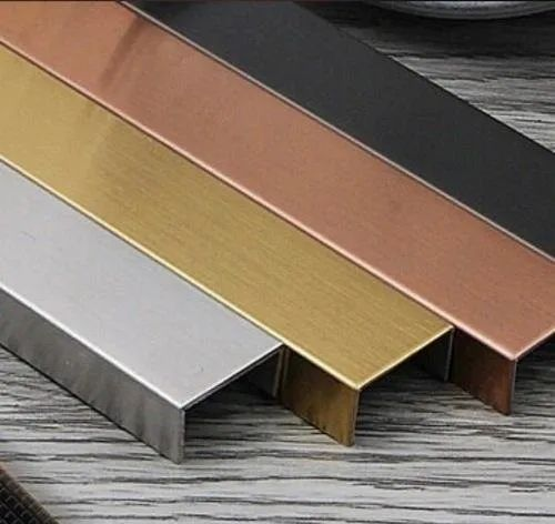 SS PVD Coating U Channel, Material Grade: SS304, Rs 100 /piece Satyam Impex  (India) | ID: 21987588788