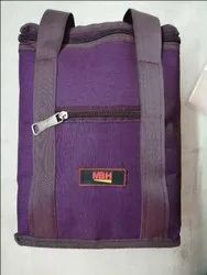 Purple Ganesh brand Lunch Bags, Size/Dimension: 12 X 6 Inches