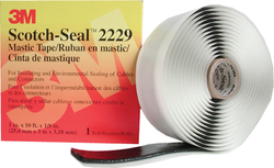 3.75 3M Scotch Seal 2229 Mastic Tape, For Sealing