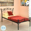 M R Steel Iron Single Bed