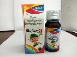 Ofloxacin 50mg, Metronidazole 120mg , Simethicone 10mg Suspension