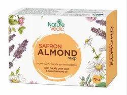 Ayurvedic Saffron Almond Handmade Soap