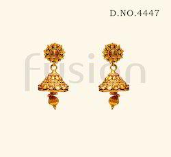 Traditional Designer Jhumka Earrings