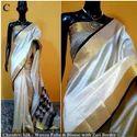 Indian Ethnic Designer Beautiful Chanderi Silk Saree