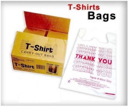 HDPE Printed Shopping Carry Bags