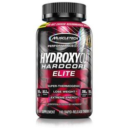 Muscletech Hydroxycut Elite Dietary Supplement, 100 Capsules