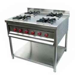 SS Kitchen Burner Range