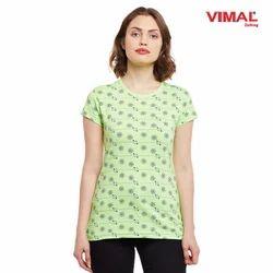 Vimal Printed Women Cotton Tops