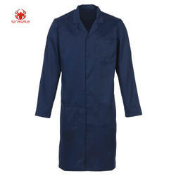Navy Blue Labcoat