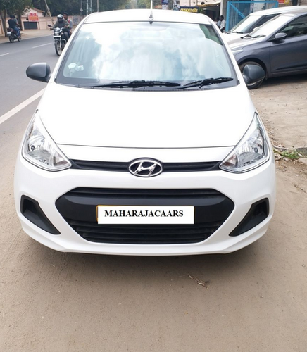 White Hyundai Xcent 1 2 Vtvt Sx Petrol Used Car Rs 650000 Piece