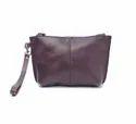女式深棕色女式皮包,尺寸:中号