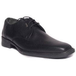 Black Leather Gents Formal Shoes, Size: 6 - 11, Packaging Type: Box