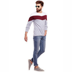Men Full Sleeve T- Shirt