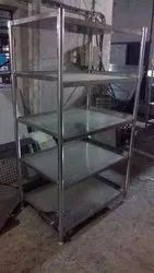 Stainless Steel Rack For Industrial Kitchen