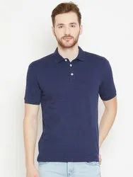 Polo Cotton Fabric Men's T-Shirt