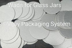 Induction Cap Sealing Wads for Glass Jars