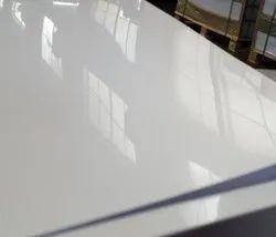 Glossy White PVC Sheets