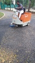 Battery Operated Sweeper for Runway