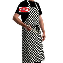 Vimal Checks Cotton Chef Apron